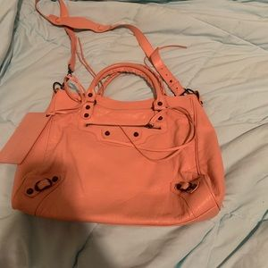 Balenciaga Crossbody Bag Pink Like New